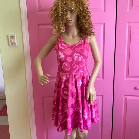 cow cow Dresses & Skirts - Cow Cow Pink Lollipop & Cupcake Dress